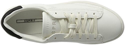 Up Damen Sidney 100 White Weiß Sneakers ESPRIT Lace wdRcnqt1E