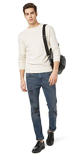 Slim stone Jeans Tailor destroyed Hombre dark Fit Tom wash Denim FxZ4vnq