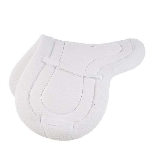 - Horze Airflow Close Contact Shaped Pad Full White