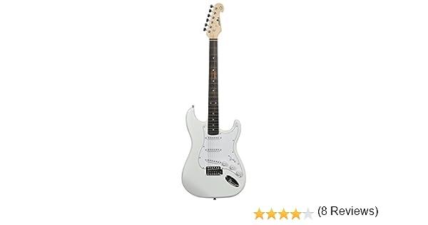 Guitarra eléctrica profesional Chord: Amazon.es: Instrumentos ...