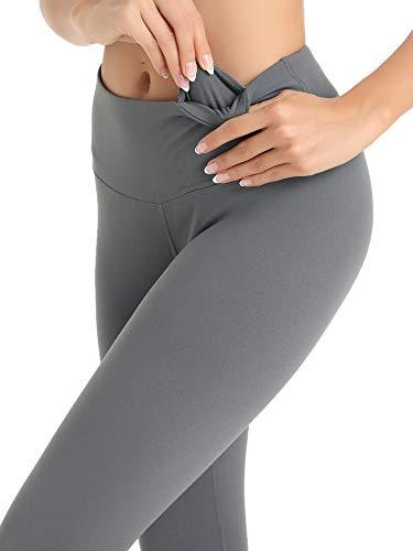 3c959b8e1c Amorbella Women's Soft Yoga Capris & Pants Lightweight Workout Leggings  with Inner Pocket
