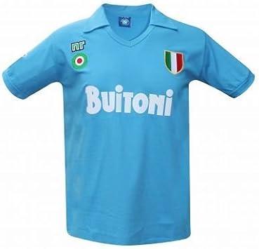 Vintage Napoli 1987/88 – Camiseta retro (Buitoni), Unisex: Amazon ...