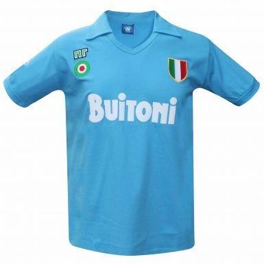 Napoli Vintage 1987/88 Retro Camiseta (Buitoni), Unisex