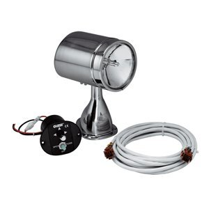 (Guest 22040A Stainless Steel Marine 5-Inch Spotlight/Floodlight Kit with Remote Control Joystick (12-Volt, 7-Amps, 72000-CP))