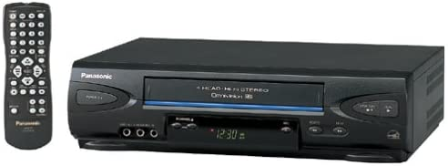 GE VG4225 HiFi Stereo VCR Video Cassette Recorder Player 4 Head ...