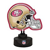 San Francisco 49ers Neon Helmet Desk Light