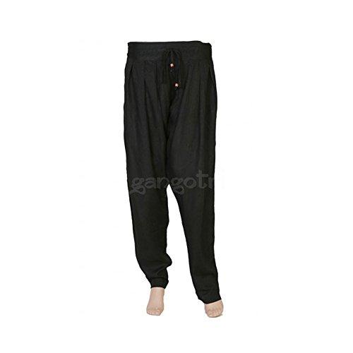 Trouser Charo Rayon Black