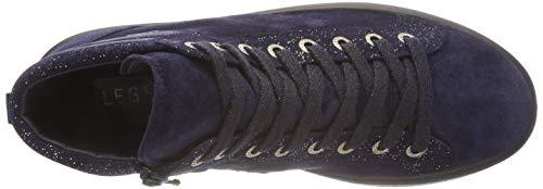Sneaker Collo Donna Alto Mira Legero a Blu Blue 82 O5pqtXwxXn