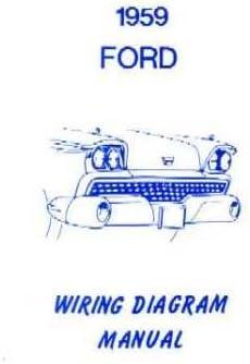 locomotive wiring diagrams amazon com 1959 ford electrical wiring diagrams schematics manual  electrical wiring diagrams schematics