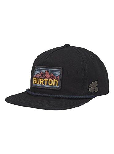 Burton Black Hat - Burton Buckweed Hat, True Black, One Size