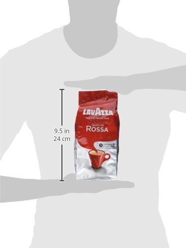 Lavazza Café de grano tostado Qualità Rossa - 500 g: Amazon.es: Alimentación y bebidas