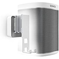 Vogels Speaker Mount for SONOS Play - SOUND series, 4201W Wall Mount for Play 1, White (single mount)