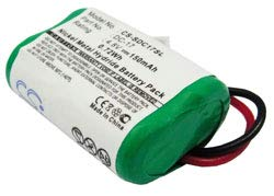 Replacement For Dogtra Transmitters Sd-400s Battery by Technical Precision