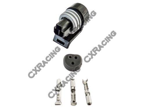 CXRacing Oil Fuel TPS Pressure Sensor Connector Plug Terminal for GM LS1 LSx ()