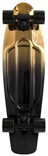 "Penny Skateboards- Nickel Board 27"" Plastic Cruiser, Black/Gold"