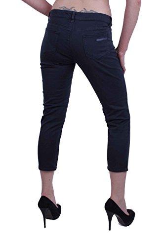 Prada Jeans Nero Donna Pantaloni Capri qUwgTzxqO