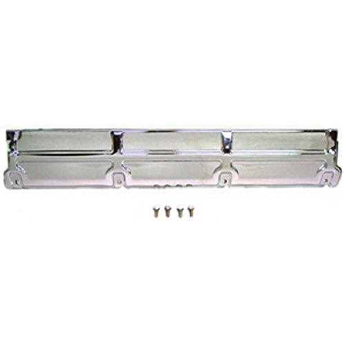 (Eckler's Premier Quality Products 50324403 Chevelle Chrome Radiator Top Support V8 4 bolt)