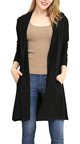 ladies hooded cardigan - 8