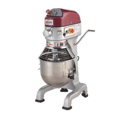 MVP Group Stainless Steel Electric Floor Model 20 Quart Axis Planetary Mixer ()