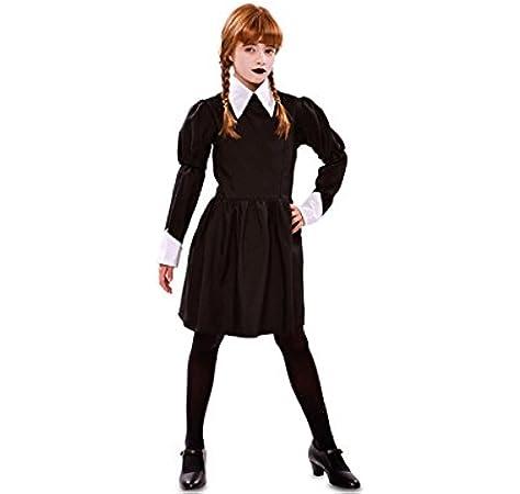 Disfraz de Morticia Addams, gótico para Halloween: Amazon.es ...