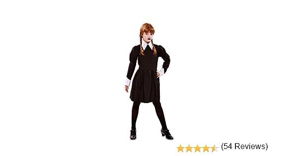Disfraz de Niña Siniestra para niña: Amazon.es: Juguetes y juegos