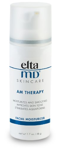 EltaMD AM Therapy Facial Moisturizer, Oil-free, Lightweight, Fragrance-free, Dermatologist-Recommended, 1.7 -