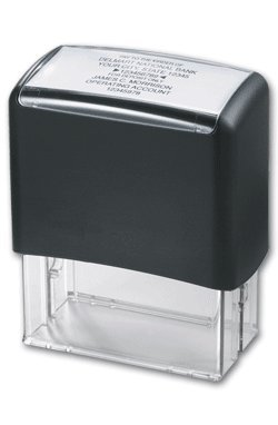 EGP Endorsement Stamp Self-Inking
