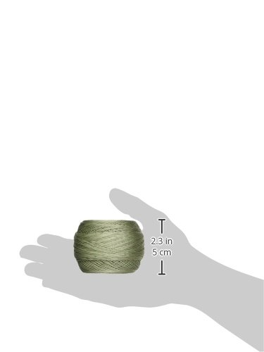 DMC 167GA 20-524 Cebelia Crochet Cotton, 405-Yard, Size 20, Light Green by DMC (Image #2)