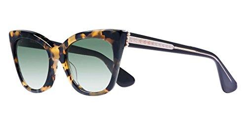 Chrome Hearts - Glitter Goo II - Sunglasses (Hollywood Tortoise-Black, Dark Green G15 Gradient)