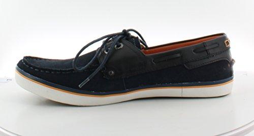 Jd Fisk Mens Denton Boat Shoe Navy