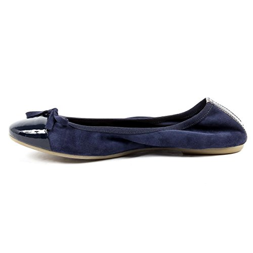 V 1969 Italia Womens Soft Ballerina Blue Pamela
