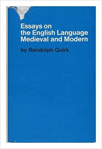 essays on the english language medieval and modern randolph  essays on the english language medieval and modern randolph quirk   amazoncom books