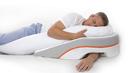 MedCline Acid Reflux Relief Bed Wedge and Body Pillow System | Medical Grade and Clinically Proven Acid Reflux and GERD Relief, Size: ()