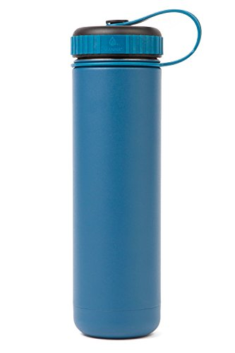 Manna Ranger 26 oz Vacuum Insulated Stainless Steel Wide Mouth Sports Water Bottle With Flex Cap |Sports and Hiking | Keeps Hot for 12 Hours, Cold for 24 Hours | BPA Free | Sweat Free - Jungle