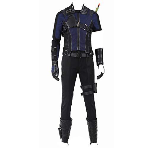 CosplayDiy Men's Suit for Civil War Hawkeye Cosplay Costume L -