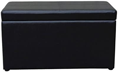 Better Homes and Gardens 30 Inch Hinged Storage Ottoman