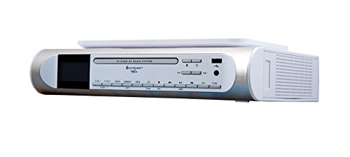 Soundmaster UR 2170 Küchenradio CD/MP3 Musik-Center Unterbau mit DAB+/PLL-Radio mit USB