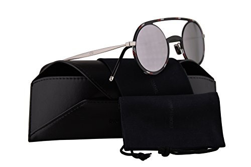 Christian Dior Homme DiorSynthesis01 Sunglasses Black Pattern White w/Grey Silver Mirror Lens 43mm TAY0T Dior Synthesis01 Dior Synthesis 01 Dior Synthesis01/S DiorSynthesis01/S