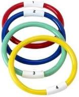 Jeu de 4 anneaux lest/és et num/érot/és en 4 couleurs diff/érents Visiodirect
