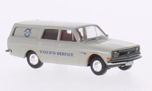 - Volvo 145 station wagon, Volvo service, Model Car, Ready-made, Brekina 1:87