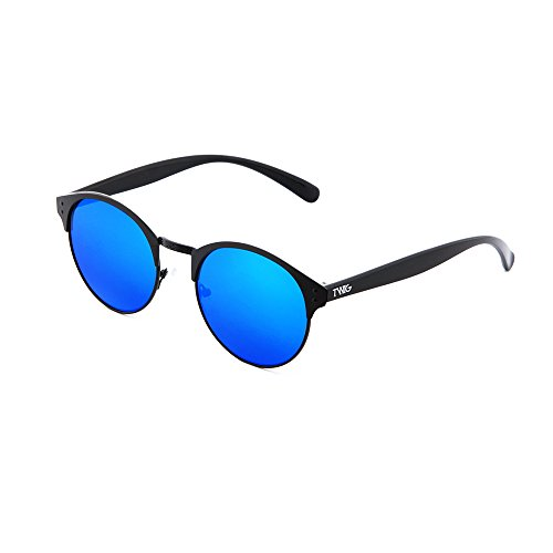 espejo Gafas PISSARRO redondo TWIG Azul Negro mujer de hombre sol XwqqApO
