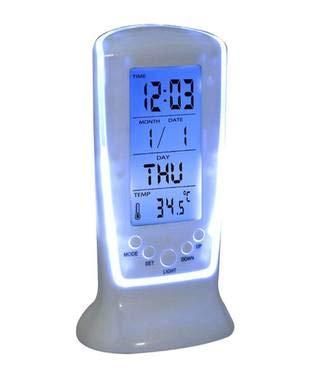 Dkdas Square Clock 510 Digital Alarm Temperature Table Clock