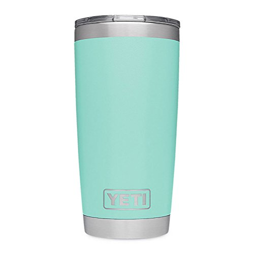 YETI Rambler 20 oz Stainless Steel Vacuum Insulated Tumbler w/MagSlider Lid, Seafoam