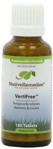 Native Remedies Vertifree Temporarily Dizziness