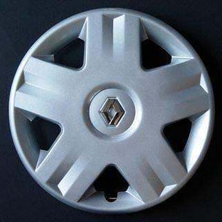 Renault Clio Megane 14 ONE Wheel Trim Chrome Badge This Sale Is For One Wheel Trim If You Require a Set Please Change Quantity To 4