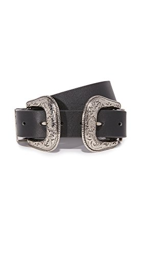 B-Low The Belt Women's Bri Bri Belt, Black/Silver, Medium by B-Low the Belt