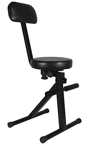 Rockville RDS40 Portable DJ/Guitar/Drum/Keyboard Padded Throne/Chair Adjustable  sc 1 st  Amazon.com & Guitar Chairs: Amazon.com islam-shia.org