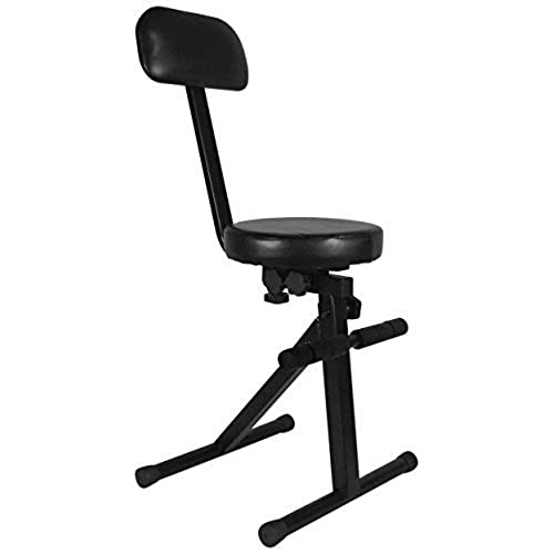 Attrayant Rockville RDS40 Portable DJ/Guitar/Drum/Keyboard Padded Throne/Chair  Adjustable