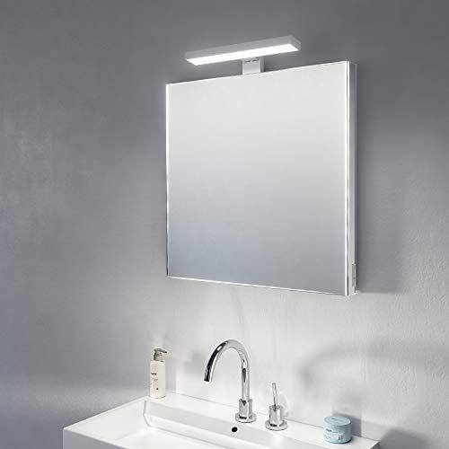 Diamond X - Supra Bathroom Mirror Top Light LED Shaver Socket and -