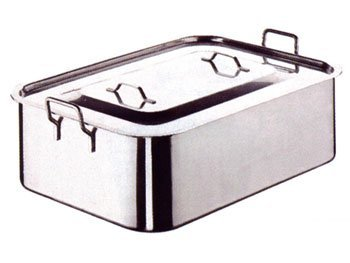 Roasting Pan With Cover S/Steel